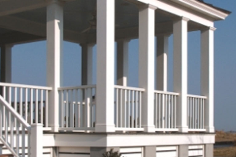 Fluted column wrap pvc columns 100 images fypon square for Hb g square columns