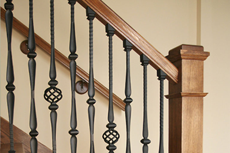 Step 4: Select Handrail/Posts